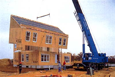 Modular homes are residences constructed entirely in factories and transported to their sites on flatbed trucks. They are built under controlled conditions ... & Q \u0026 A Modular vs. Manufactured Homes   B and B Homes Effingham IL ...