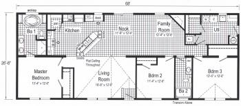 10x40 house plans popular house plans and design ideas for 14x40 mobile home floor plans