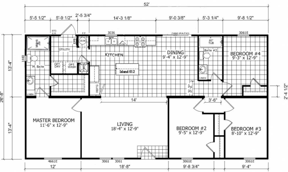 Multi section display homes b and b homes effingham il for Multi family modular home prices