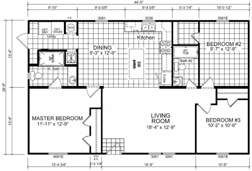 Multi Section Display Homes B And B Homes Effingham Il
